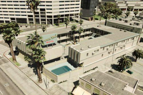 43 motel interior Blaine County and Los Santos