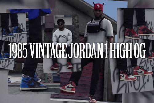 [4K] 1985 Vintage Jordan 1 High OG