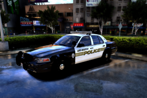 [4K&2K] Los Santos Police Department Pack