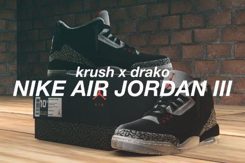 [4K] Nike Retro Air Jordan 3