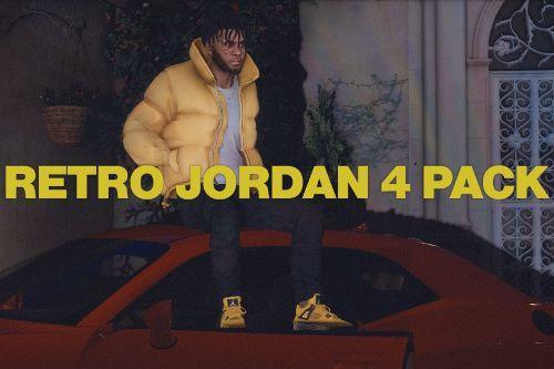 [4k] Air Jordan 4 Retro Pack
