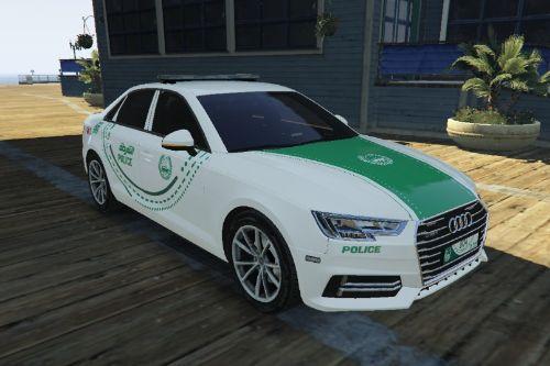 [4K] Audi A4 Dubai Police Livery