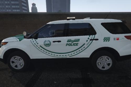 [4K] Dubai Police 2014 FPIU Ford Explorer Textures