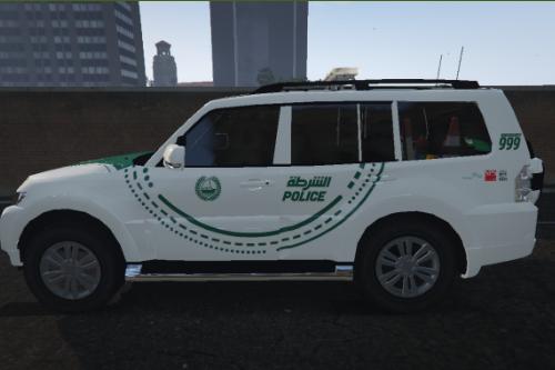 [4K] Dubai Police 2016 Mitsubishi Pajero (Shogun) Textures