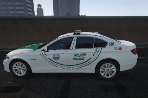 [4K] Dubai Police BMW 530D Saloon Texture