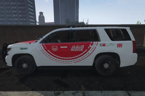 [4K] Dubai Police Search & Rescue 2015 Tahoe Texture