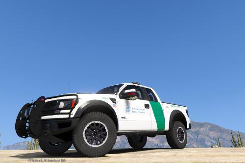 4k Ford Raptor US Border Patrol