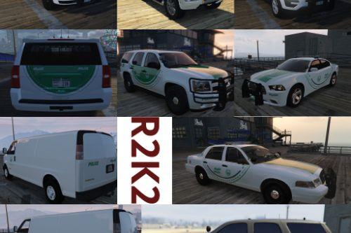 [4k][ Dubai Police Mega Texture Pack