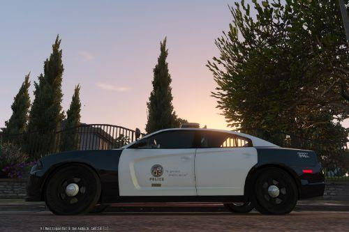 Real LAPD: 4K 2011 Dodge Charger Texture