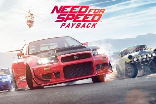 4K Loading screens and music theme from the game Need For Speed Payback