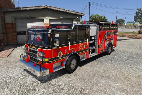 [4K] Los Santos County Sheriff Fire Rescue Pierce Arrow (Broward Sheriff)