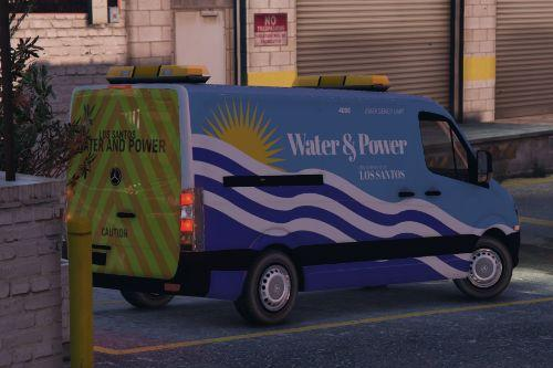 [4K] Sprinter - LS Dept. of Water and Power Texture