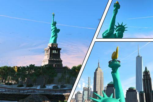4K Statue of Liberty (Liberty Rewind)