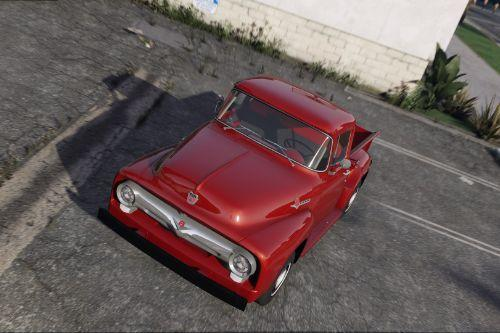 '56 Ford F100 [FH3] | ADDON | Animated Engine & Exhaust