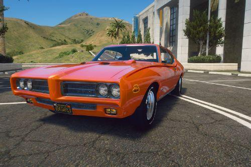 1969 Pontiac GTO Judge [Add-On / Replace | Tuning | LODs]
