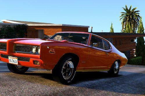 1969 Pontiac GTO Judge [Add-On / Replace]