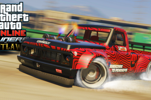 F6594c hoonitruck in gta 5! gymkhana drift yosemite car mod