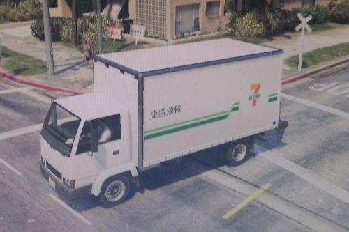 臺灣7-11物流 (Taiwanese 7-11 Logistics)