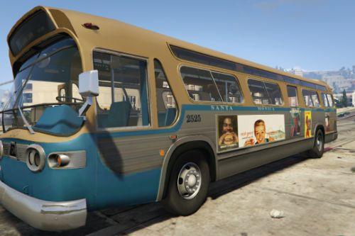 60's Advertising/Segregated Bus TDH-5303