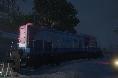 코레일 7400호대 기관차 | KOREA RAILROAD Class 7400 locomotive