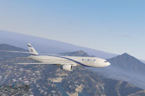 777-200er Israel Airlines (skin)