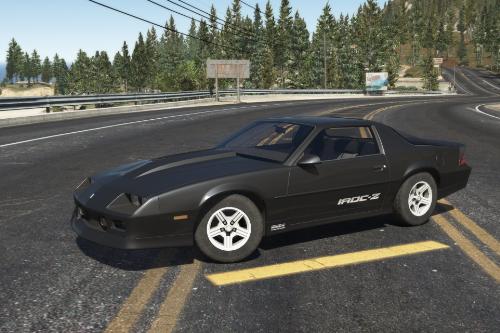 90 Camaro realistic handling