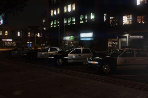90's L.A Police And Services Minipack [ REFLECTIVE | ADD-ON ]