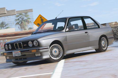 1991 BMW E30 M3 [Add-On / Replace | Template]