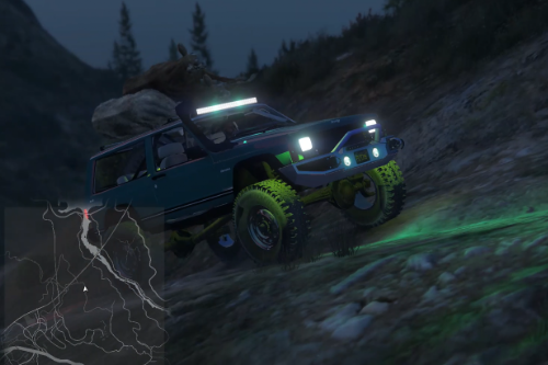 1984 Jeep Cherokee [Replace / FiveM]