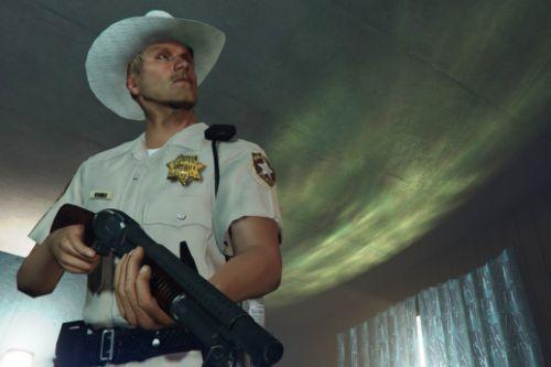 Retro Texas Sheriff