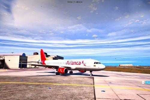 A320 - Avianca Livery