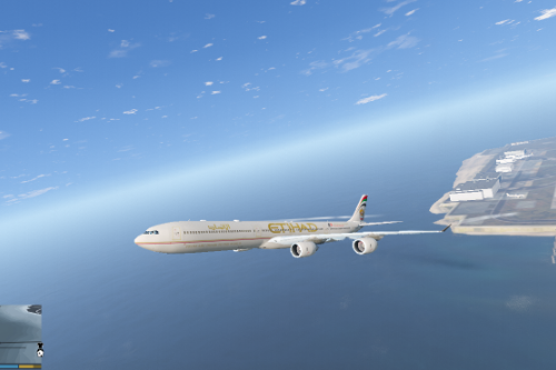 A340-600 Liveries Pack (Etihad, Qatar, South African, Thai, China Eastern)