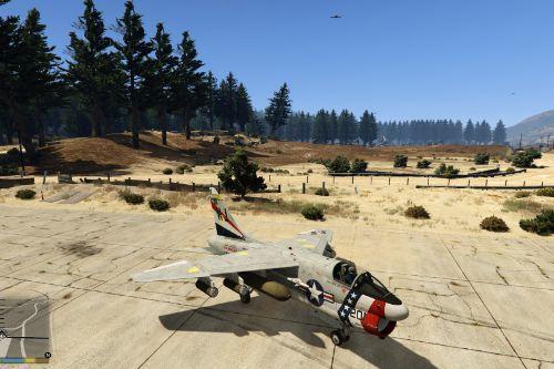A7-D Corsair II LIVERY Pack