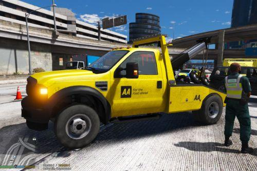 AA Ford F550 Towtruck