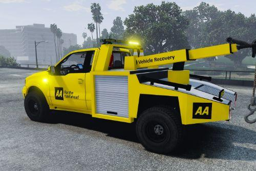 AA Tow Truck Service Skin (Ford S331)