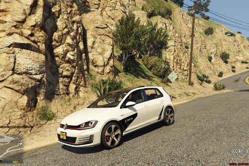 Abojoj Golf GTI Livery