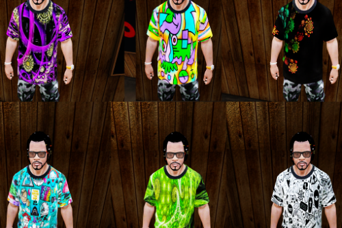 Abstract-[TH] T-Shirt Pack for Franklin Pack (1-16)