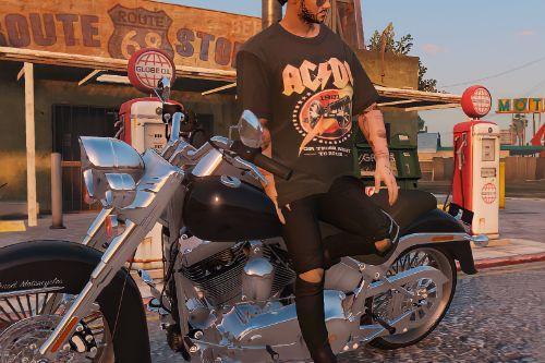 AC-DC Oversize T-Shirts For Trevor/SP