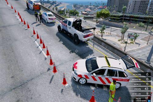 Accident on Highway [Map Editor]