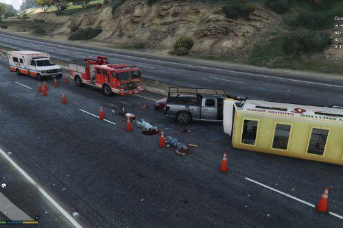 Accident On Highway ( YMAP )