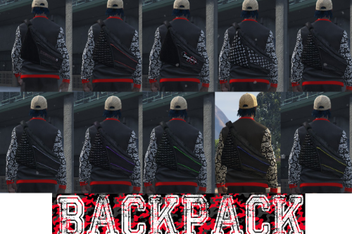 ACreed Brotherhood Backpack Bag for MP / mp (FiveM Ready)