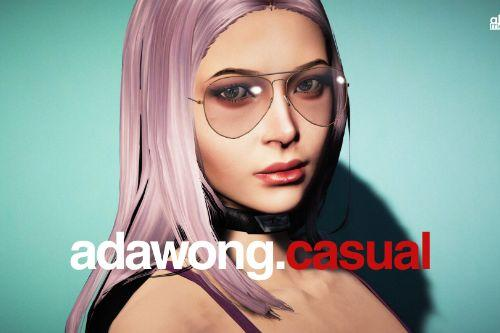 Ada Wong Custom Casual [Add-On Ped | Replace]