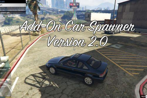 Add-On Car Spawner Menu