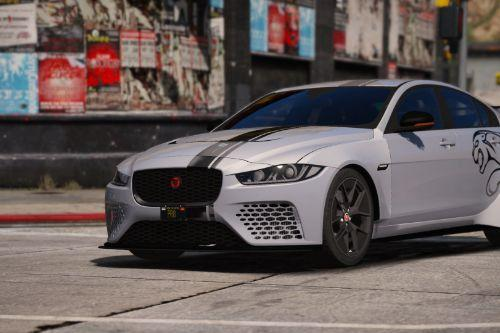 Jaguar XE SVR Project 8 [Add-On]