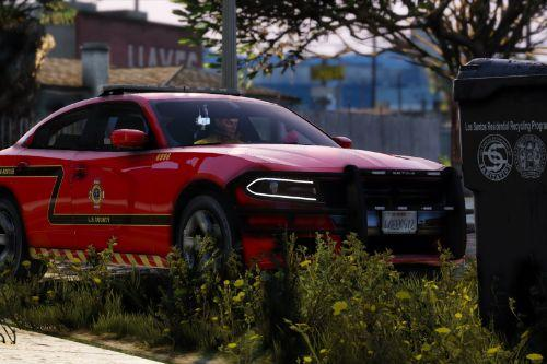L.S County Battalion Fire Car Pack [Add-On] [ELS]