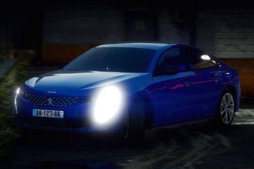 Peugeot 508 GT Line [Add-On]