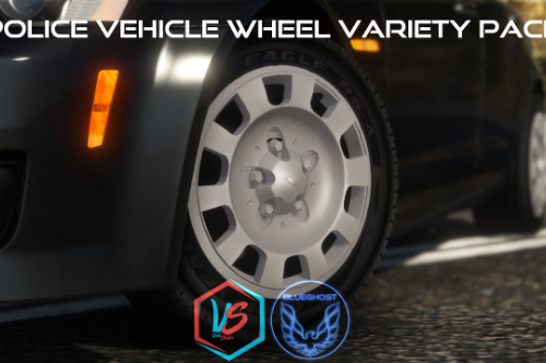 Police Vehicle Wheel Variety Pack [Add-On]