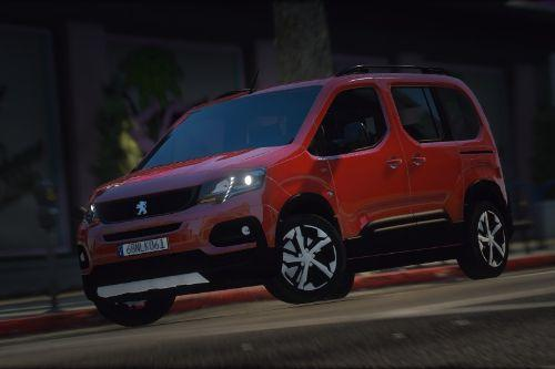 [Add-On | Replace] Peugeot Rifter 2019