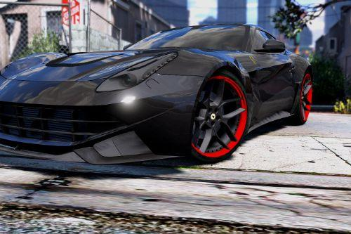 Ferrari F12 N-Largo Rosso DTD Edition [Add-On | Air Ride System | Animated Engine & Exhausts]