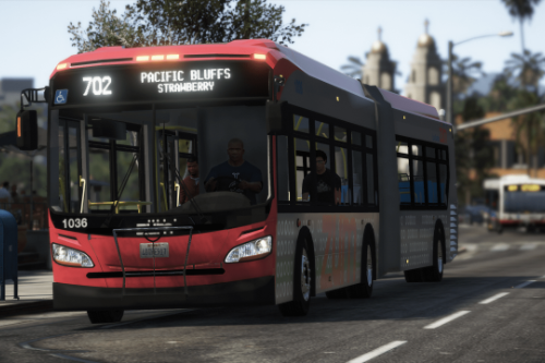 Brampton Transit based New Flyer Xcelsior Pack [Add-On / Replace]